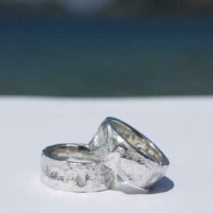 Ring geschmolzen