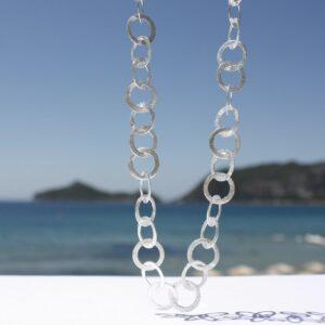 Silberkette Kreise