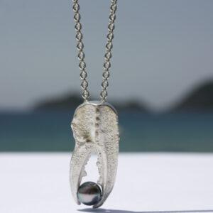 Langustenschere mit Perle