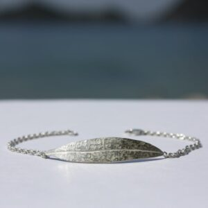 Armkette Silber Olivenblatt