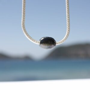 Silberkette mit Tahitiperle